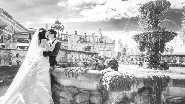 Hochzeitsfotograf Dresden - Altstadt und Grosser Garten