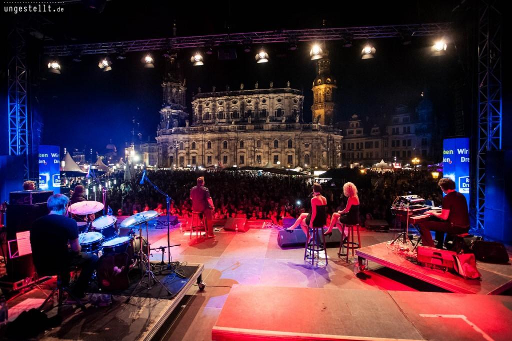 Michael Heinemann live Stadtfest Dresden
