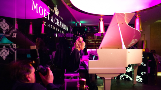 Eventfotografie Champagner Lounge Dresden