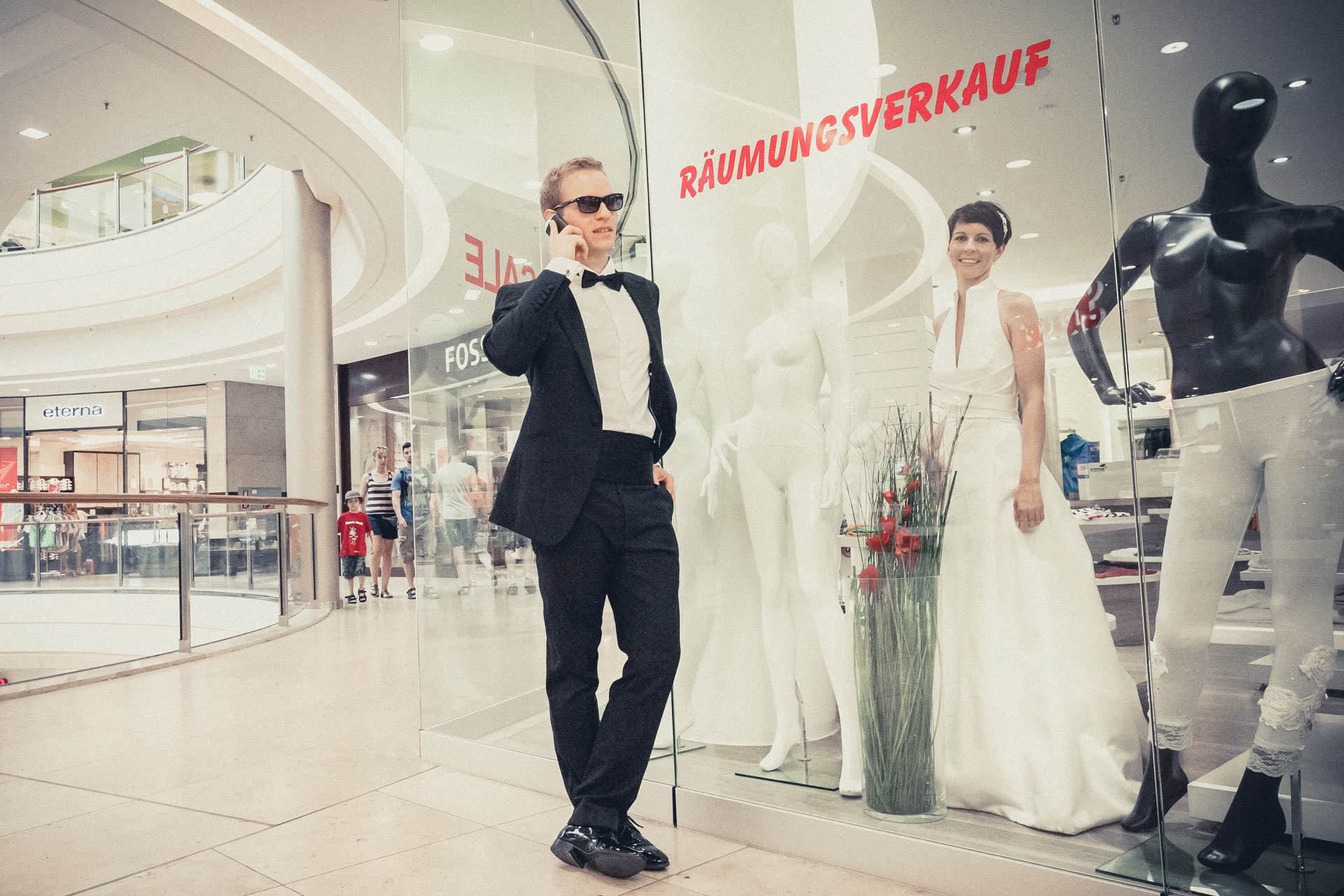 Trash The Dress After Wedding Fotoshooting Get Shot