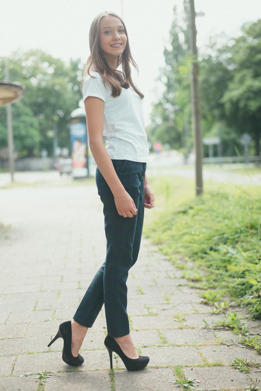 Fotograf Dresden: Model Fotoshooting