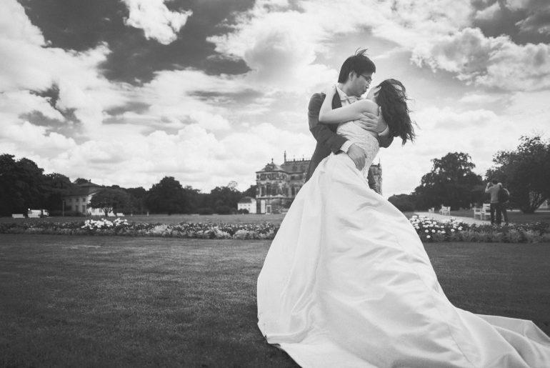 Hochzeitsfotograf Dresden - Grosser Garten Dresden