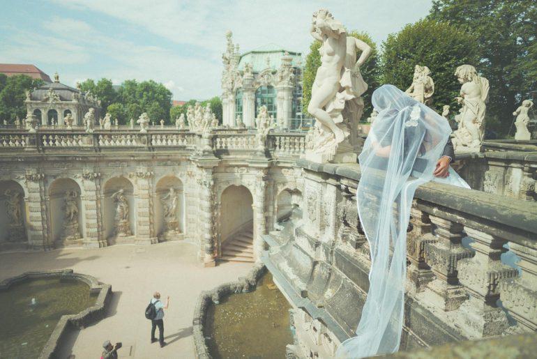 Hochzeitsfotografie Dresden - Zwinger