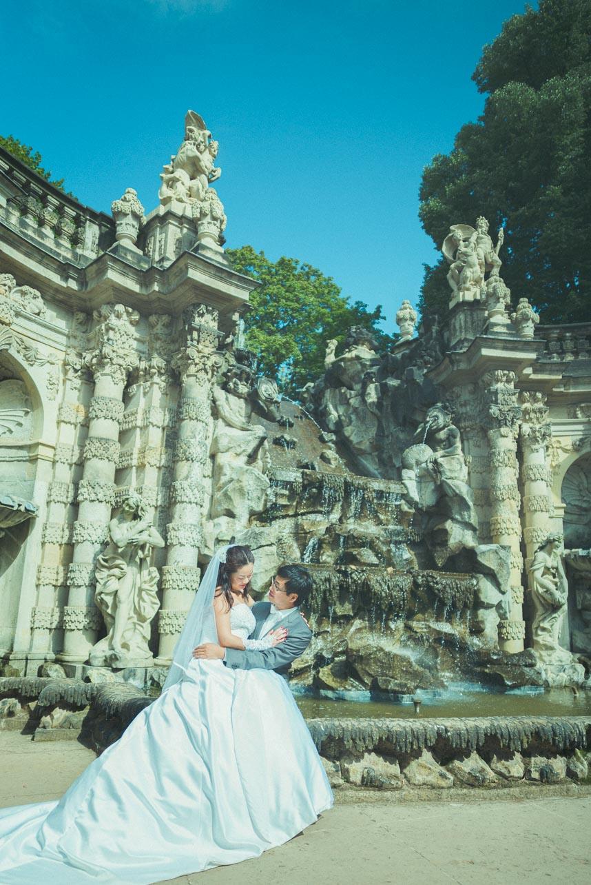 Hochzeitsfotograf Dresden - Zwinger