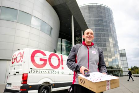 Eventfotografie GO! Express & Logistics Dresden und Volkswagen e-Crafter
