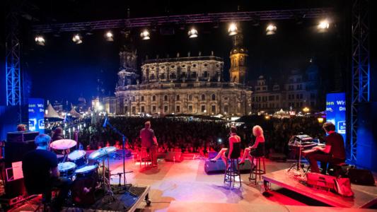 Eventfotografie Stadtfest Dresden Konzert
